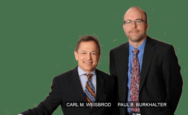 Carl M. Weisbrod & Paul B. Burkhalter